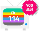ch 113 TV아이콘, VOD포함 tag