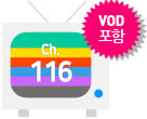 ch 115 TV아이콘, VOD포함 tag
